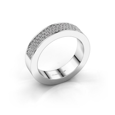 Ring Lindsey 2 585 witgoud diamant 0.436 crt