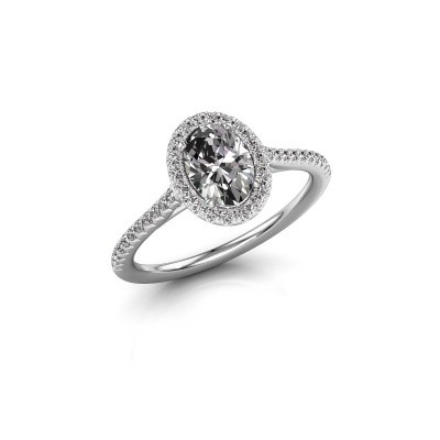 Picture of Engagement ring Seline 2 585 white gold diamond 1.081 crt