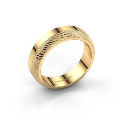 Trouwring Lyda 585 goud ±5x2 mm