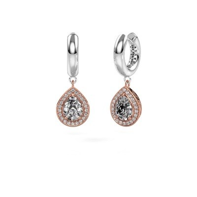 Picture of Drop earrings Barbar 1 585 rose gold diamond 2.065 crt