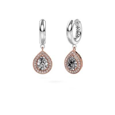 Bild von Ohrhänger Barbar 1 585 Roségold Diamant 2.065 crt