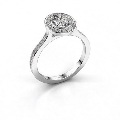 Picture of Ring Madelon 2 585 white gold diamond 1.16 crt