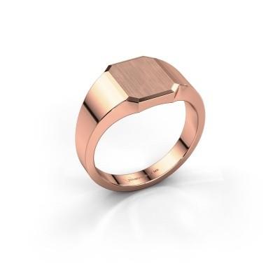 Foto van Pinkring Abel 1 375 rosé goud