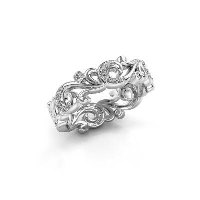 Foto van Ring Svetlana 585 witgoud diamant 0.238 crt