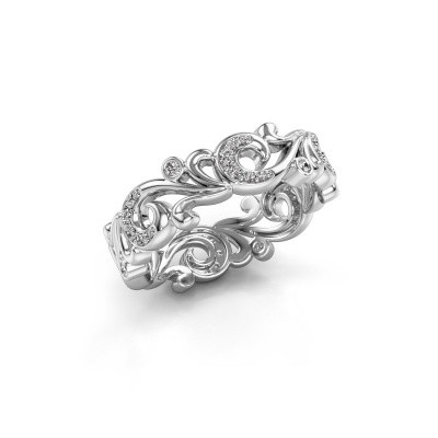 Picture of Ring Svetlana 585 white gold diamond 0.238 crt