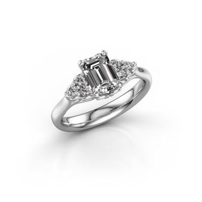 Foto van Aanzoeksring Myrna EME 585 witgoud diamant 1.300 crt