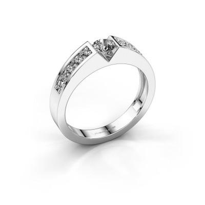 Verlovingsring Lizzy 2 585 witgoud diamant 0.54 crt