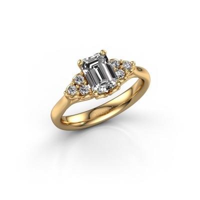 Foto van Aanzoeksring Myrna EME 750 goud diamant 1.300 crt