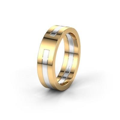 Trouwring WMH0530M 585 goud ±6x2 mm