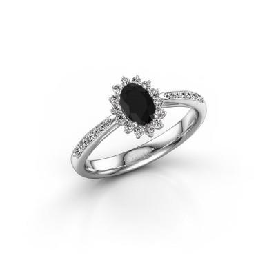 Bild von Verlobungsring Tilly 2 585 Weissgold Schwarz Diamant 0.795 crt