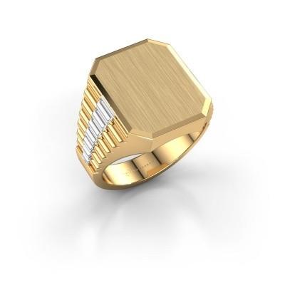 Bild von Rolex stil Ring Erik 4 585 Gold