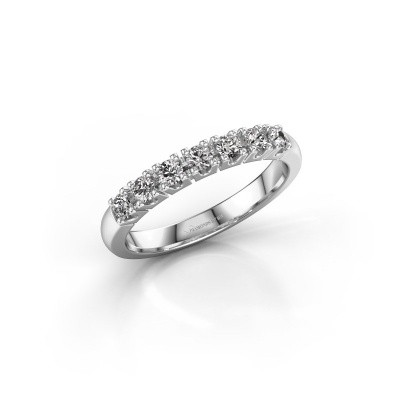Foto van Belofte ring Rianne 7 585 witgoud diamant 0.385 crt
