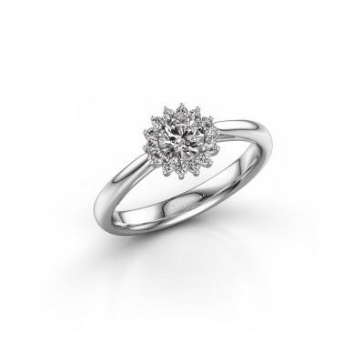 Bild von Verlobungsring Mariska 1 585 Weissgold Diamant 0.405 crt