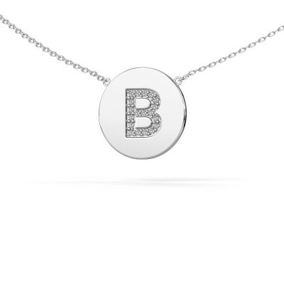 Picture of Initial pendant Initial 050 585 white gold