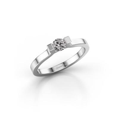 Foto van Verlovingsring Jodee 585 witgoud diamant 0.25 crt