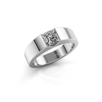 Foto van Verlovingsring Arlena 1 585 witgoud diamant 0.40 crt