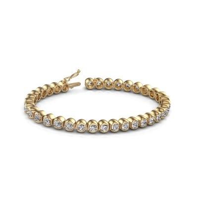 Foto van Tennisarmband Bianca 375 goud diamant 8.75 crt