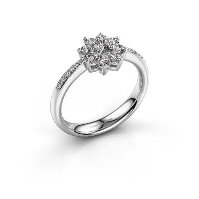 Verlovingsring Camille 2 585 witgoud diamant 0.535 crt