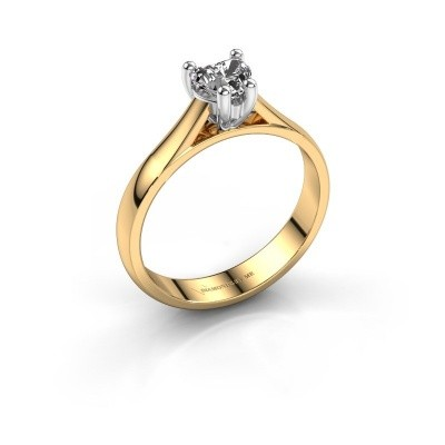 Picture of Engagement ring Sam Heart 585 gold diamond 0.50 crt