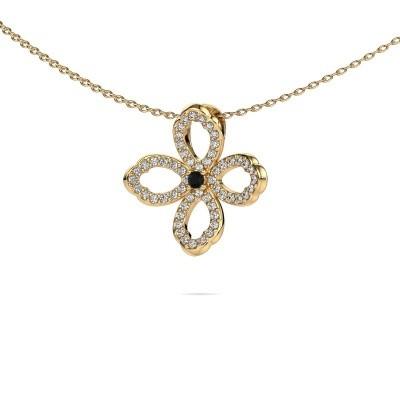 Bild von Kette Chelsea 585 Gold Schwarz Diamant 0.316 crt