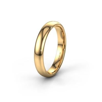 Trouwring WH0100M34BP 585 goud ±4x2 mm