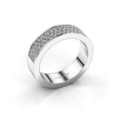 Foto van Ring Lindsey 4 950 platina diamant 0.53 crt