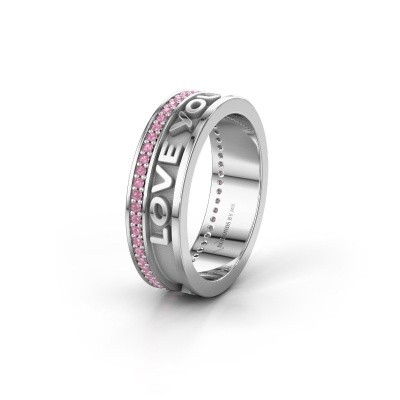 Wedding ring namering 2 950 platinum ±6x2 mm
