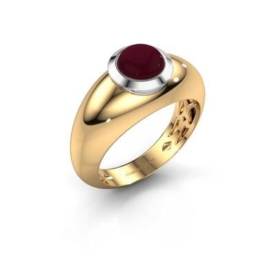Foto van Ring Sharika 585 goud granaat 6 mm