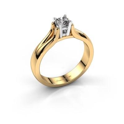 Verlovingsring Catherin 585 goud diamant 0.25 crt