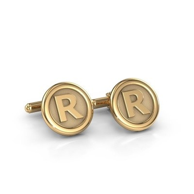 Picture of Cufflinks Initial 585 gold