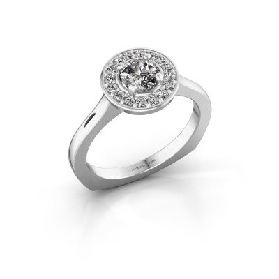 Foto van Ring Kanisha 1 585 witgoud diamant 0.692 crt