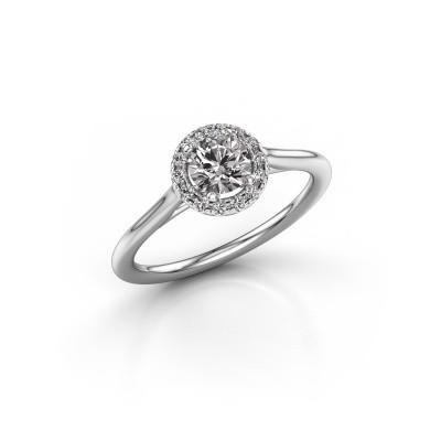 Bild von Verlobungsring Marty 1 585 Weissgold Diamant 0.605 crt