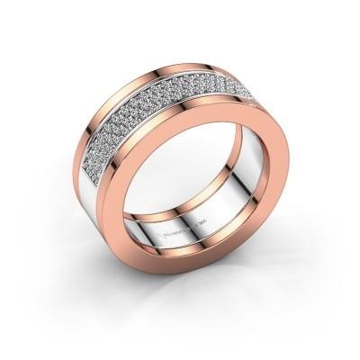 Ring Marita 2 585 witgoud diamant 0.436 crt