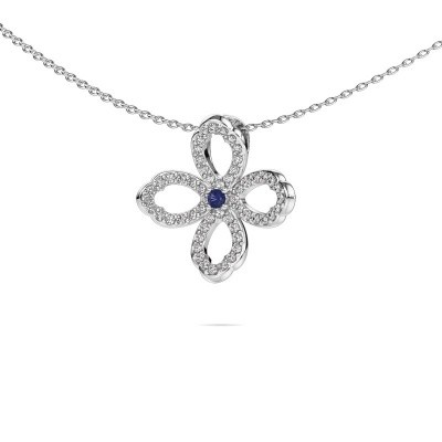 Picture of Necklace Chelsea 585 white gold sapphire 2 mm