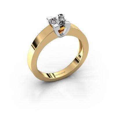 Promise ring Anne 1 585 goud diamant 0.40 crt
