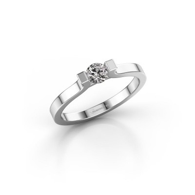 Foto van Verlovingsring Jodee 950 platina diamant 0.25 crt