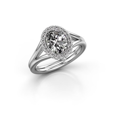 Picture of Engagement ring Rachele 1 585 white gold diamond 1.300 crt