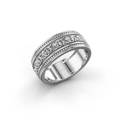 Foto van Mannen ring Eddo 925 zilver