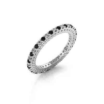 Aanschuifring Rufina 1 585 witgoud diamant 0.660 crt