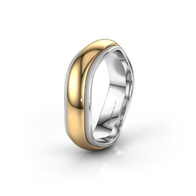 Trouwring WH2050M26DP 585 goud ±6x2.4 mm