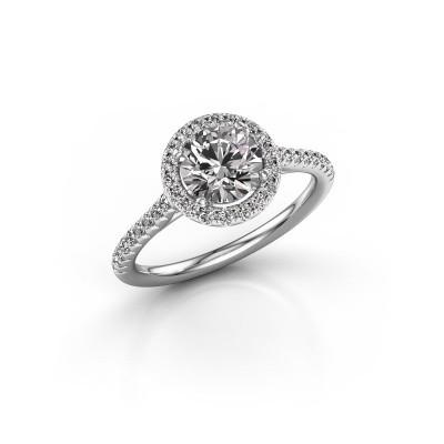 Foto van Verlovingsring Marty 2 585 witgoud diamant 1.360 crt