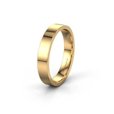 Trouwring WH0100M14AP 585 goud ±4x1.7 mm