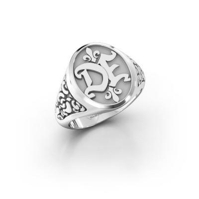 Foto van Monogram ring Brian 925 zilver