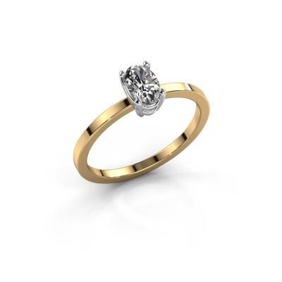 Foto van Ring Lynelle 1 585 goud diamant 0.50 crt