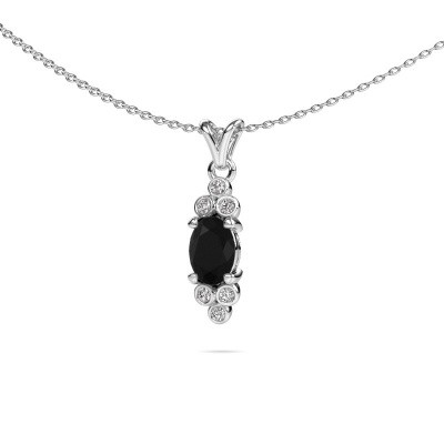 Picture of Pendant Lucy 2 950 platinum black diamond 1.05 crt