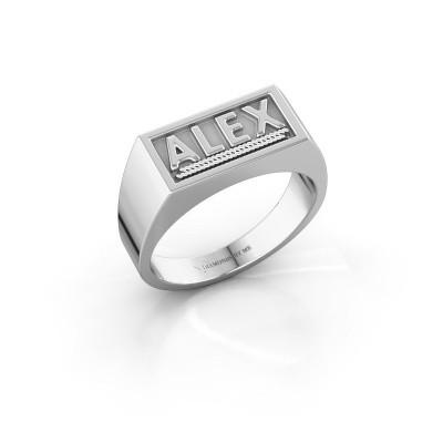 Foto van Monogram ring Marcio 925 zilver