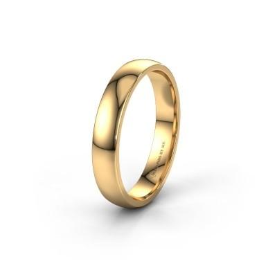 Trouwring WH0100M24AP 585 goud ±4x1.7 mm