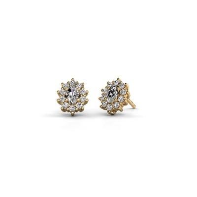 Picture of Earrings Leesa 375 gold diamond 1.60 crt