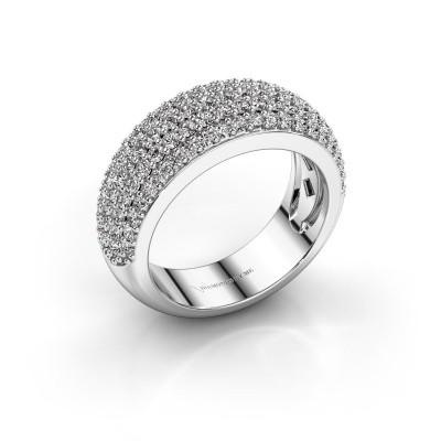 Foto van Ring Cristy 950 platina diamant 1.425 crt