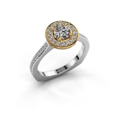 Foto van Ring Kanisha 2 585 witgoud diamant 0.872 crt